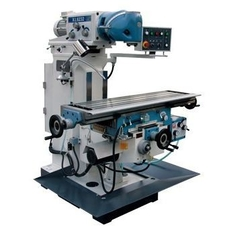 China Universal Metal Milling Machine With Table And Servo Motor Fast Auto Feed supplier