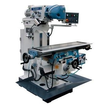 Universal Metal Milling Machine With Table And Servo Motor Fast Auto Feed