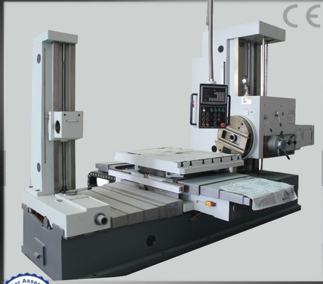 Quick Move Speed Metal Boring Machine , Rigidity Cylinder Block Boring Machine