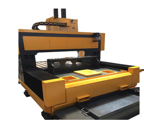 CNC Steel Drilling Machine , Flange Drilling Machine With Linear Rolling Guide