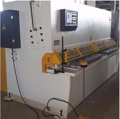 Automatic Metal Shearing Machine Cut Max 10mm Thickness Steel Plate Sheet