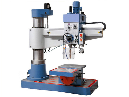 40mm Rapid Radial Drill Press Flexible Handing Rigidity With Linear Guides
