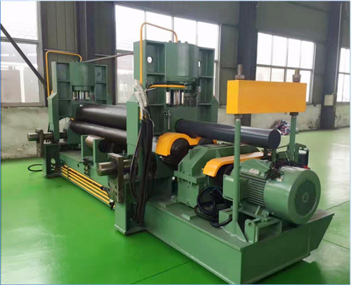 Customized Hydraulic Sheet Metal Bending Machine For Barrel / Circular Shape