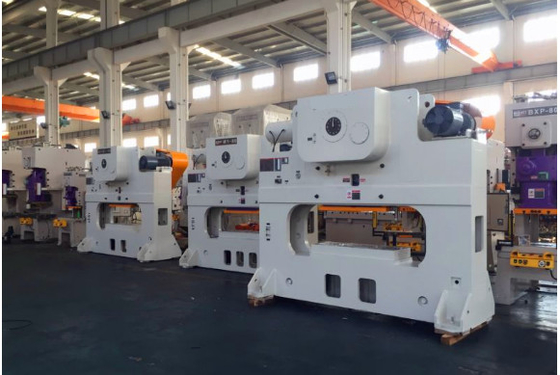 200 Ton Mechanical Press Machine , High Speed Press Machine For Blanking / Punching