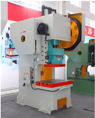 Open Punch Press Machine With Single Point Straight Side Power Press 125 Ton