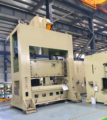 Closed Type 500 Ton Punch Press Machine With H Frame And Double Crank