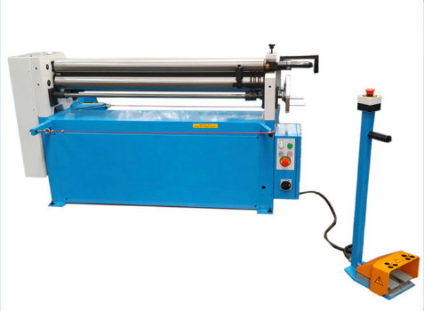 Electric Plate Bending Machine , Slip Roll Machine Or Metal Sheet 4.5mm X 1300mm