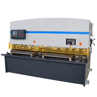 8 X 2500 Sheet Metal Shearing Machine High Rigidity With Alloy Steel Blade