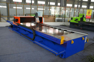 Depth 4 Mm Horizontal Bending Grooving Machine 4 Axes CNC Control V Planer