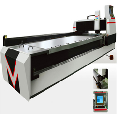 Accuracy 0.02mm V Grooving Machine , 5.5kw Horizontal Slotting Machine