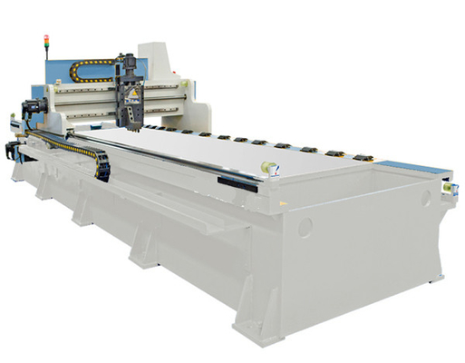 Stainless Steel Sheet Metal Grooving Machine High Speed With Width 4000mm
