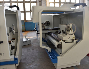 Flat Bed Threaded CNC Horizontal Boring Machine With Spindle Bore 100mm