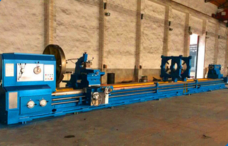 China Horizontal Light Grinding Lathe Machine 22KW Power With 755mm Guideway Width supplier