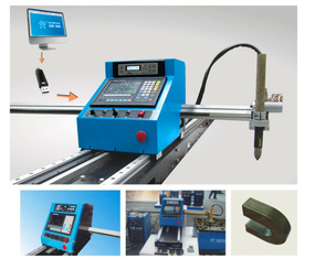 Portable CNC Plasma Cutting Machine And Automatic Gas Cutting Machine With Steel Track