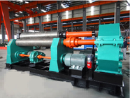 China 7.5kw Symmetrical Bending Machine 30 X 2500mm With 380mm Diameter Lower Roller \ company