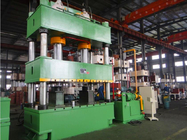 Four Column 1000 Ton Hydraulic Press , PLC Press Control CNC Punching Machine