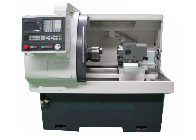 Household Metal Drill Machine , Small CNC Lathe Machine For